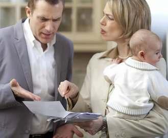 Как заставить мужа заплатить алименты