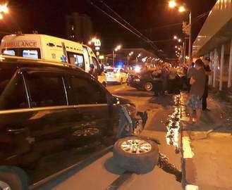 ДТП в центре Харькова: разбит выход из метро «Научная»