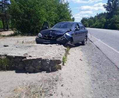 Авария на Мерефянском шоссе: пострадали женщина и годовалый ребенок
