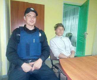 Полиция отправила малолетнего бродягу в приют