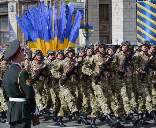 На парад 24 августа приедут подразделения войск союзных стран
