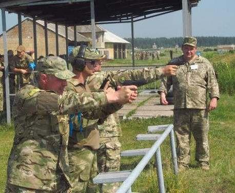 На Харьковщине бойцы отрядов теробороны совершенствовали навыки