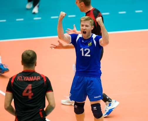 Сборная Украины завоевала победу в Евролиге