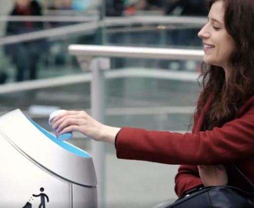 Следить за чистотой вокзалов будет робот-урна