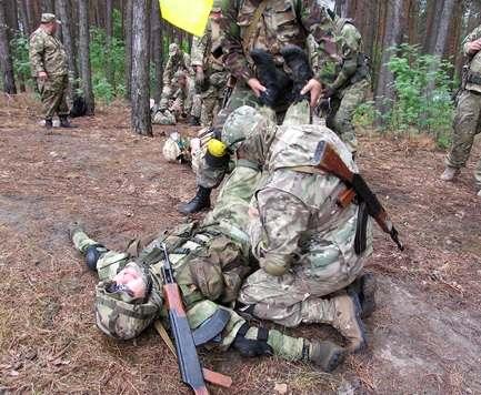 В Харькове набирают резервистов в «армию выходного дня»