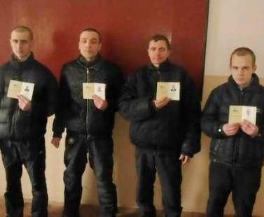 В Харьковской колонии осужденные получили паспорта