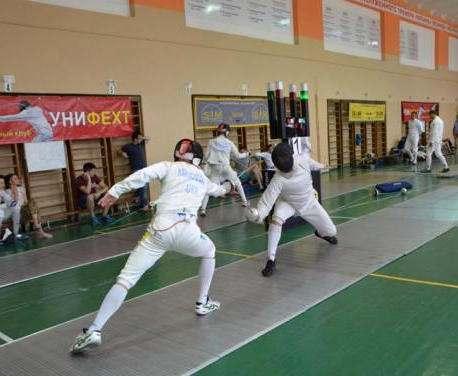 Харьковчане победили на чемпионате Украины по фехтованию
