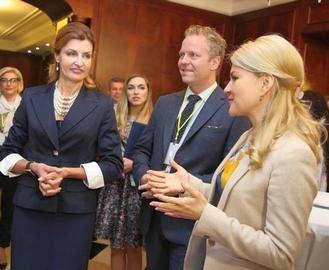 Марина Порошенко поучаствовала в харьковском форуме