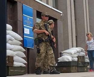 В Кривом Роге задержан военный, ранивший телеоператора