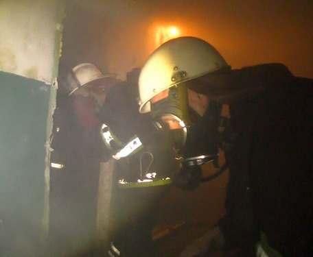 Пожар в Харькове: на Салтовке горела пятиэтажка