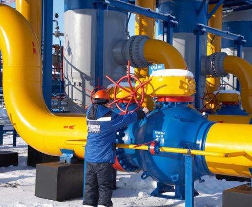 Украина почти наполовину пополнила запасы газа