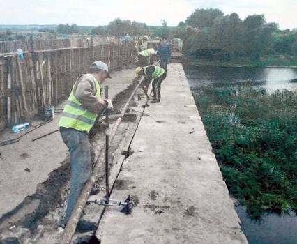 Движение по балаклейскому мосту восстановлено