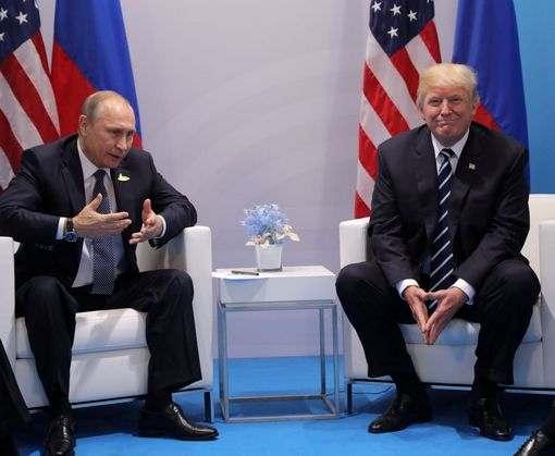 Дональд Трамп рассказал о встрече с Владимиром Путиным