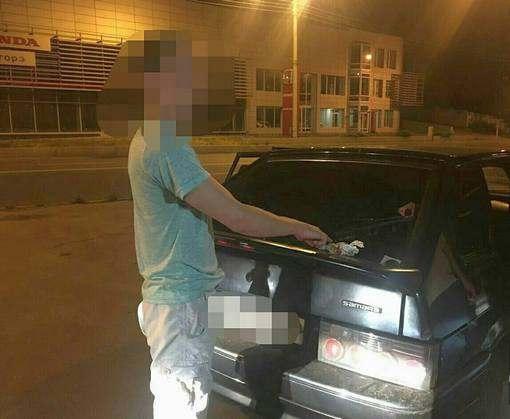 В Харькове поймали наркоманов за рулем