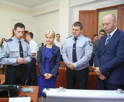 Миссия ЕС помогла харьковским полицейским с компьютерами