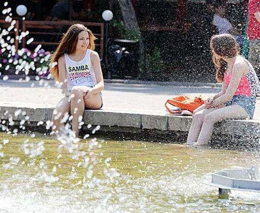 Погода в Харькове: экватор лета пройден