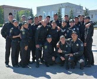 Полицейские приняли присягу