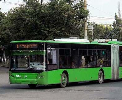 В Харькове отменяется троллейбус номер один