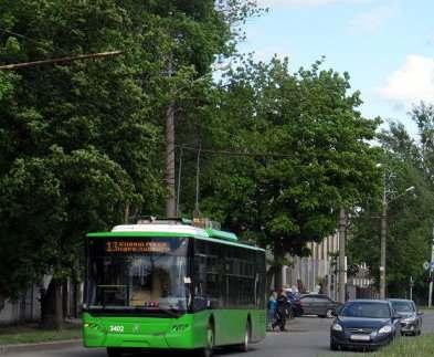 Харьковский троллейбус №13 изменит маршрут