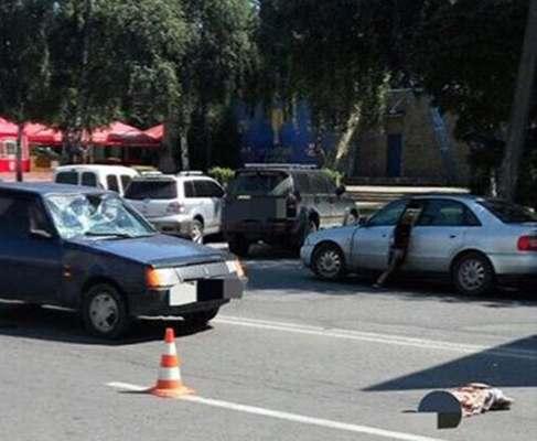 ДТП в Харькове: на Салтовке «Таврия» сбила пешехода