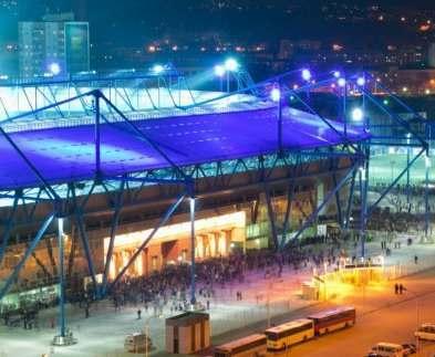 В субботу вечером в Харькове – футбол: проезд около стадиона ограничивается