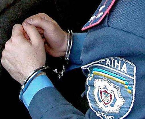 В Харькове задержан полицейский-взяточник