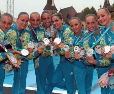 Харьковские синхронистки возвращаются из Венгрии с багажом медалей
