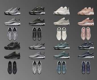 Nike выпустит 13 новых вариантов кроссовок Air Max 97