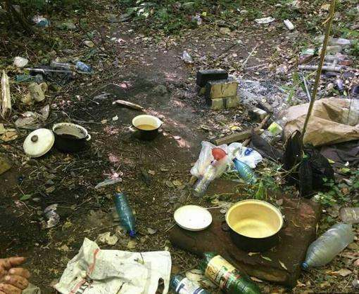Лесопосадка на ХТЗ – не лучшее место для нарковаров