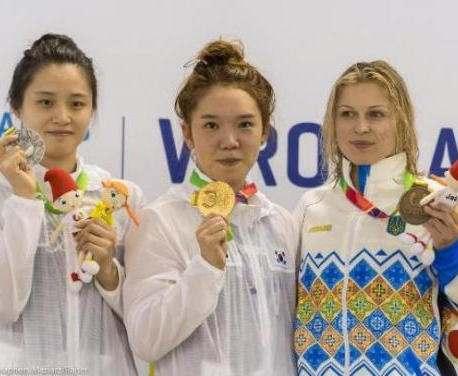 Харьковчанка Екатерина Делова завоевала «бронзу» Всемирных игр