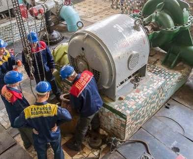 Насосные станции «Харьковводоканала» готовят к отопительному сезону