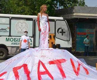 В Харькове на «Стекляшке» замечены люди в масках