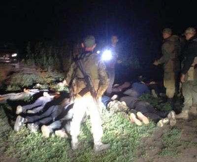 Стрельба на границе: задержаны 13 человек