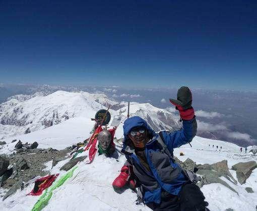 Харьковский альпинист через 35 лет снова покорил высшую точку Памира