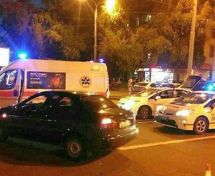 ДТП в центре Харькова: столкнулись трое