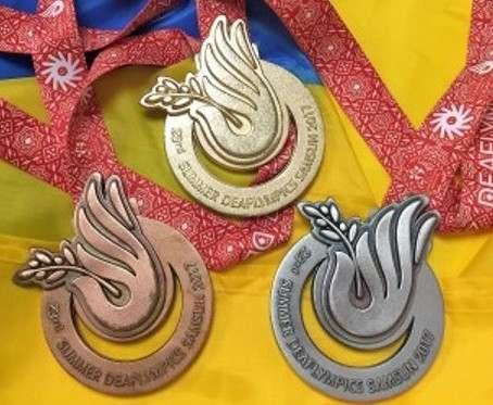 Cпортсмены Харьковской области завоевали две сотни медалей