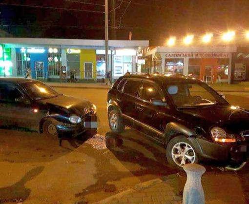 ДТП в Харькове: есть пострадавший