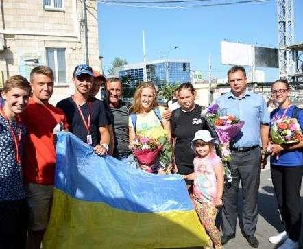 Юные гребцы вернулись в Харьков с медалями чемпионата мира
