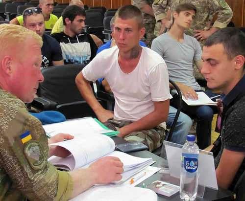 Харьковчан набирают в десант