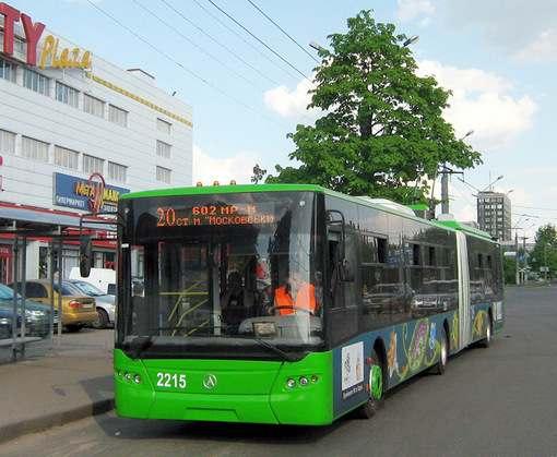 Харьков покупает сто троллейбусов