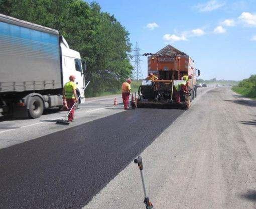 Как ремонтируют окружную дорогу Харькова