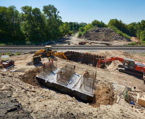 Новый Губаревский путепровод будет выше демонтированного и сможет выдержать в три раза большие нагрузки