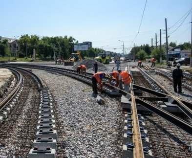 В Харькове отремонтируют несколько трамвайных переездов
