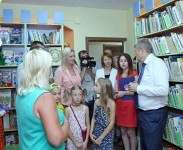 В День города в Чугуеве открыли детскую библиотеку