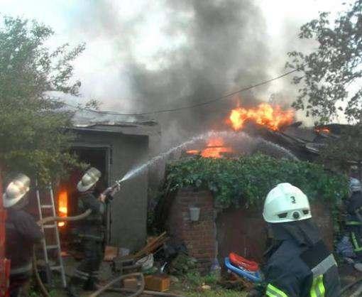 Пожар в центре Харькова тушили шесть часов: видео-факт