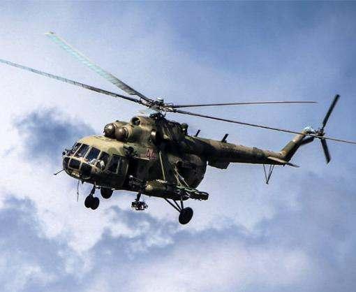 В Харьков на вертолете доставили раненых бойцов