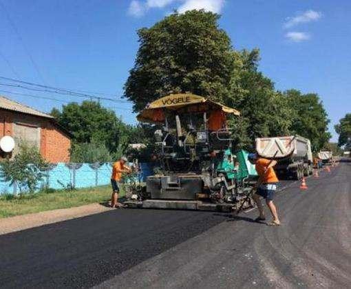 В Харьковской области начат ремонт еще двух дорог