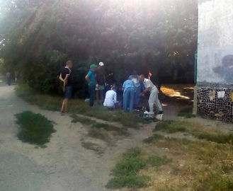 В Харькове рабочий сорвался с высоты
