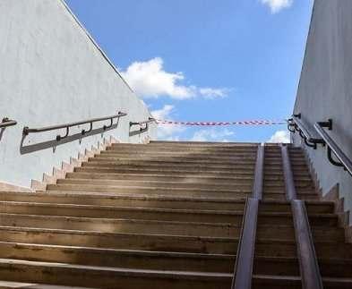 В Харькове на станции метро «Армейская» отремонтировали семь выходов