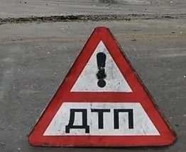 В центре Харькова перевернулось авто